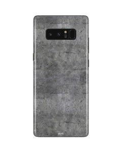Natural Grey Concrete Galaxy Note 8 Skin
