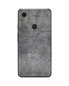 Natural Grey Concrete Google Pixel 3 XL Skin