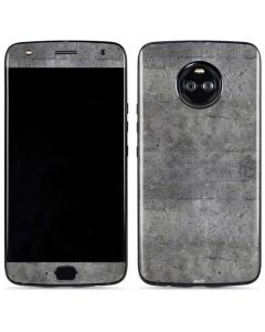 Natural Grey Concrete Moto X4 Skin