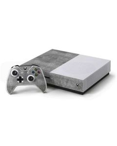 Natural Grey Concrete Xbox One S Console and Controller Bundle Skin