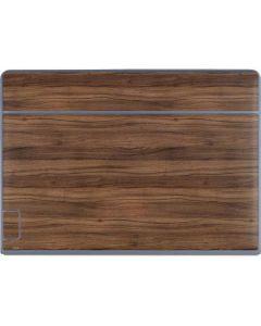 Natural Walnut Wood Galaxy Book Keyboard Folio 12in Skin