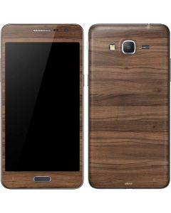 Natural Walnut Wood Galaxy Grand Prime Skin