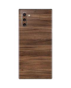 Natural Walnut Wood Galaxy Note 10 Skin