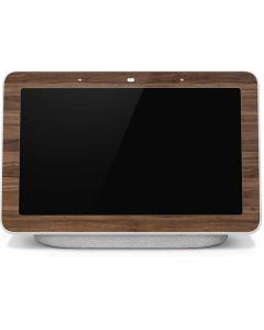 Natural Walnut Wood Google Home Hub Skin