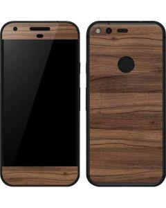 Natural Walnut Wood Google Pixel Skin