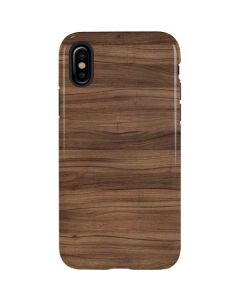 Natural Walnut Wood iPhone XS Max Pro Case