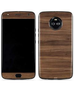 Natural Walnut Wood Moto X4 Skin