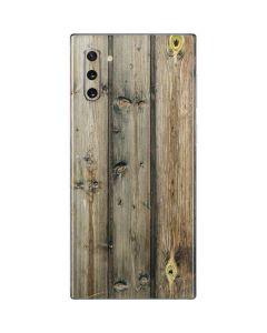 Natural Weathered Wood Galaxy Note 10 Skin