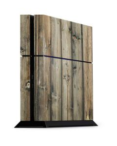 Natural Weathered Wood PS4 Console Skin