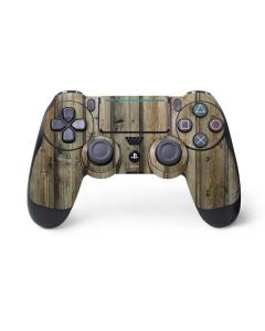 Natural Weathered Wood PS4 Pro/Slim Controller Skin