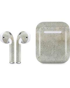Natural White Concrete Apple AirPods Skin