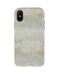 Natural White Concrete iPhone XS Pro Case