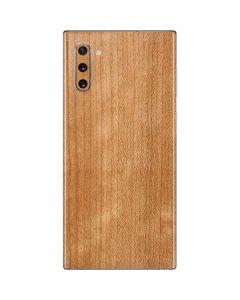 Natural Wood Galaxy Note 10 Skin