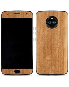 Natural Wood Moto X4 Skin