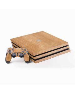Natural Wood PS4 Pro Bundle Skin