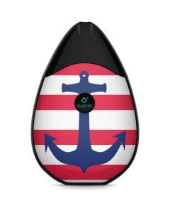Nautical Stripes Suorin Drop Vape Skin