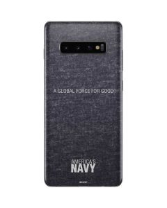 Navy: A Global Force for Good Galaxy S10 Plus Skin