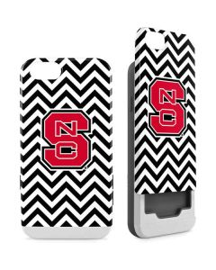 NC State Chevron Print iPhone 6/6s Wallet Case