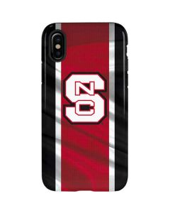 NC State Flag iPhone X Pro Case