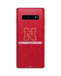 Nebraska Cornhuskers Galaxy S10 Plus Skin