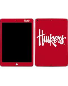 Nebraska Huskers Red Apple iPad Skin
