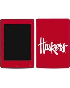 Nebraska Huskers Red Amazon Kindle Skin