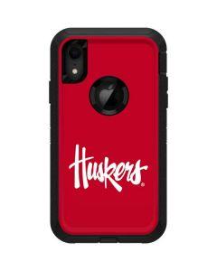 Nebraska Huskers Red Otterbox Defender iPhone Skin