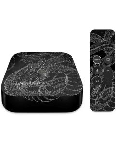 Negative Shenron Apple TV Skin