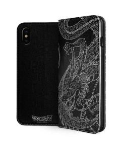 Negative Shenron iPhone XS Folio Case