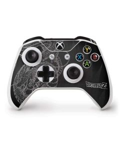 Negative Shenron Xbox One S Controller Skin
