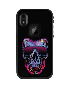 Neon Skull with Glasses LifeProof Fre iPhone Skin