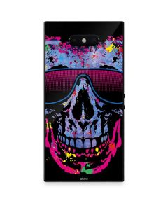 Neon Skull with Glasses Razer Phone 2 Skin