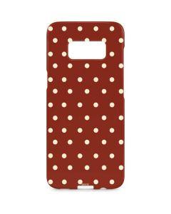Neutral Polka Dots Galaxy S8 Plus Lite Case