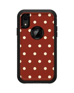 Neutral Polka Dots Otterbox Defender iPhone Skin