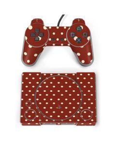 Neutral Polka Dots PlayStation Classic Bundle Skin