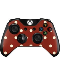 Neutral Polka Dots Xbox One Controller Skin