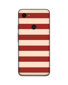 Neutral Stripes Google Pixel 3a Skin