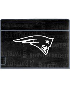 New England Patriots Black & White Galaxy Book Keyboard Folio 12in Skin
