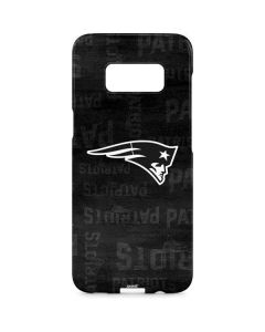 New England Patriots Black & White Galaxy S8 Plus Lite Case
