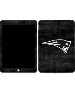 New England Patriots Black & White Apple iPad Skin