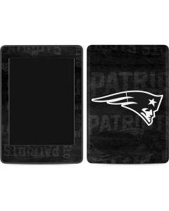 New England Patriots Black & White Amazon Kindle Skin