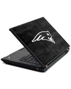 New England Patriots Black & White Lenovo T420 Skin