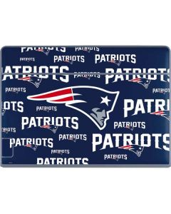 New England Patriots Blast Galaxy Book Keyboard Folio 12in Skin