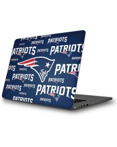 New England Patriots Blast Apple MacBook Pro Skin