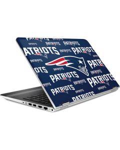 New England Patriots Blast HP Pavilion Skin