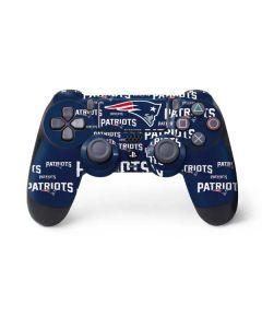 New England Patriots Blast PS4 Controller Skin