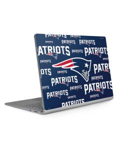 New England Patriots Blast Surface Book 2 13.5in Skin