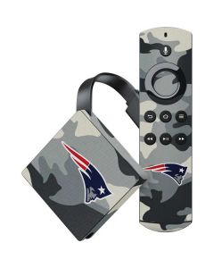 New England Patriots Camo Amazon Fire TV Skin