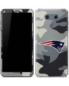 New England Patriots Camo LG G6 Skin