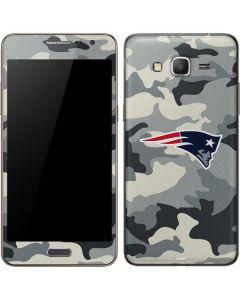 New England Patriots Camo Galaxy Grand Prime Skin